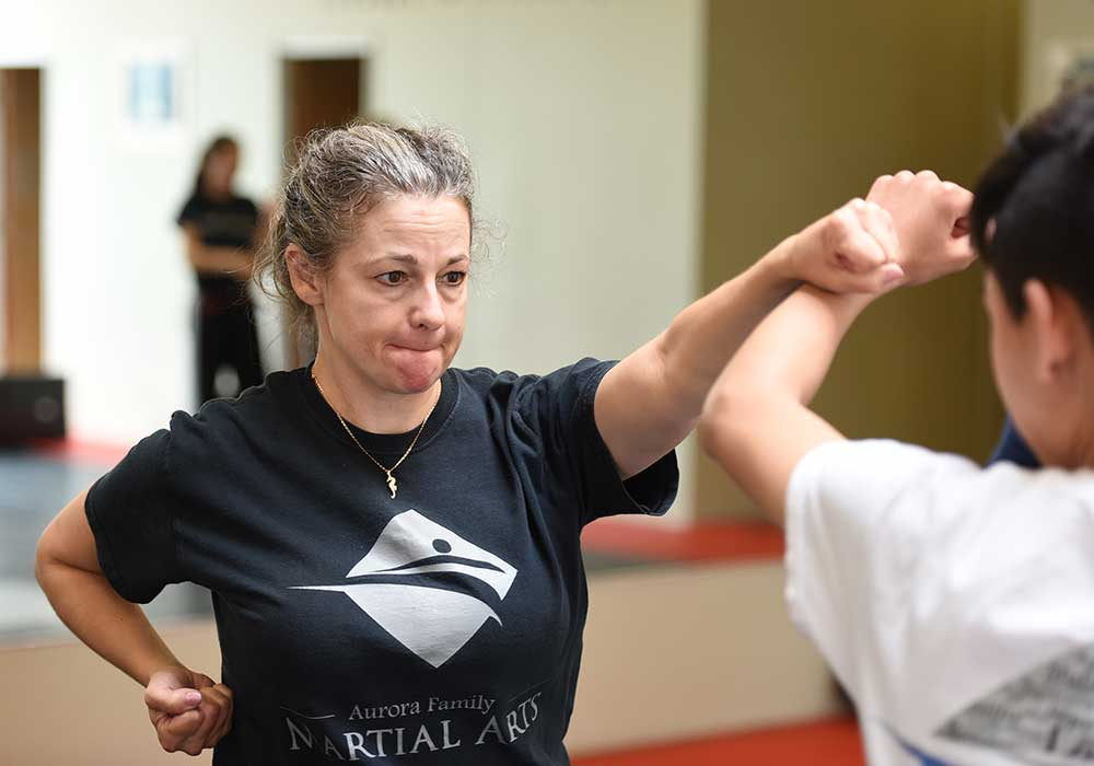 adult karate defense