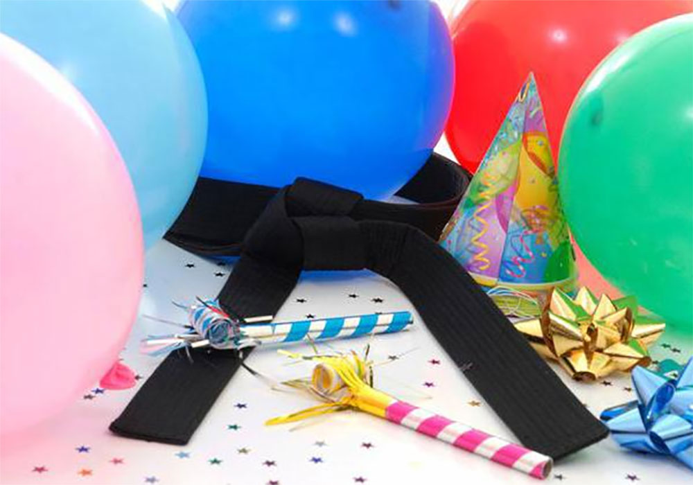kids karate birthday parties