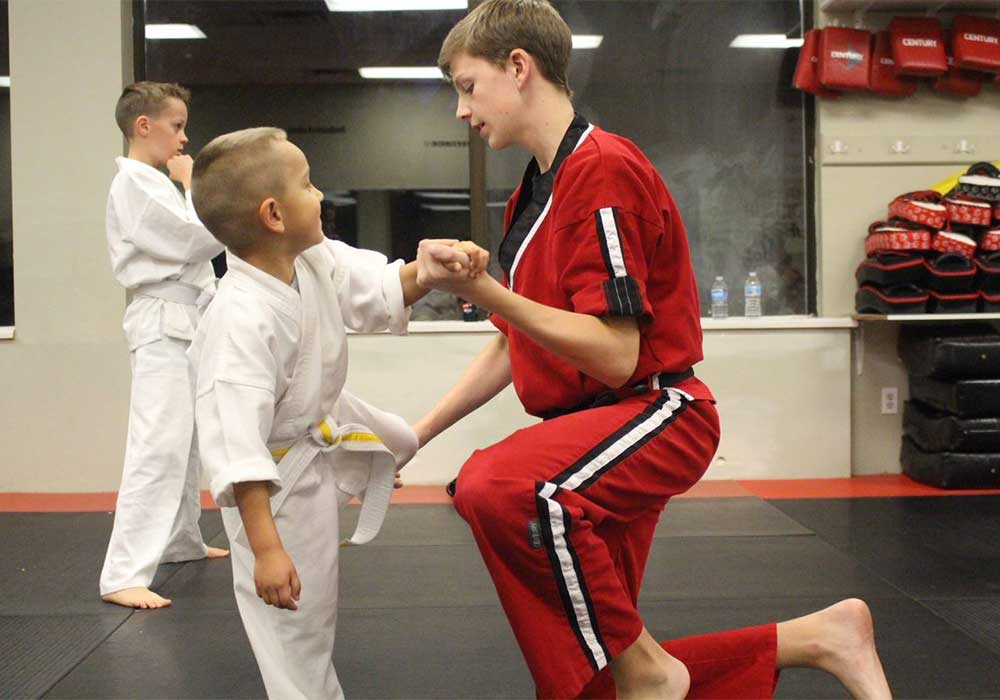 kids karate co-ordination