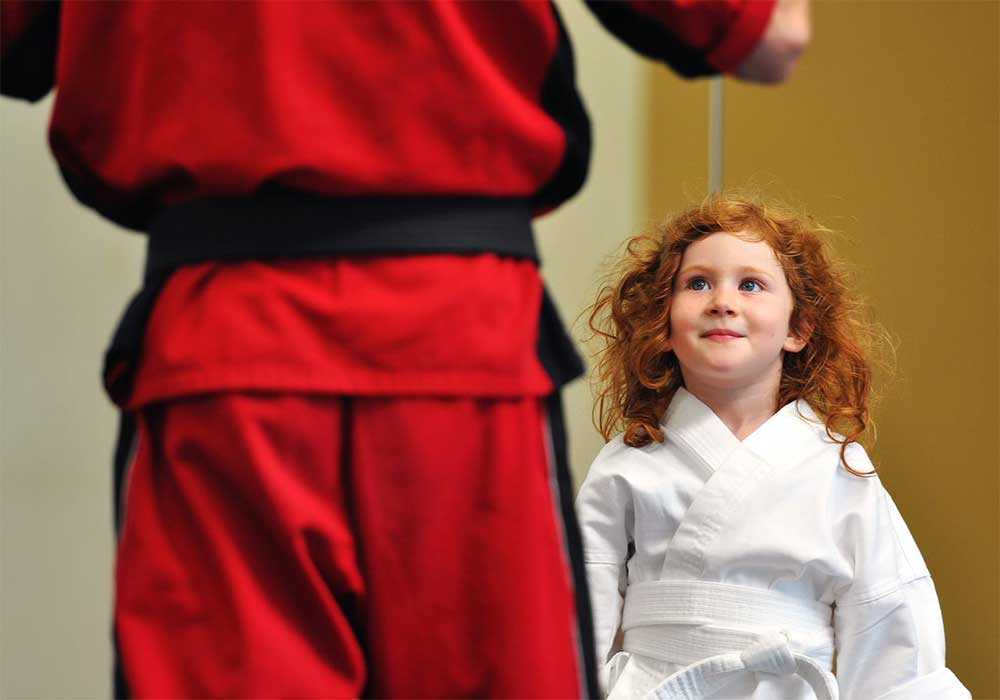 kids karate focus
