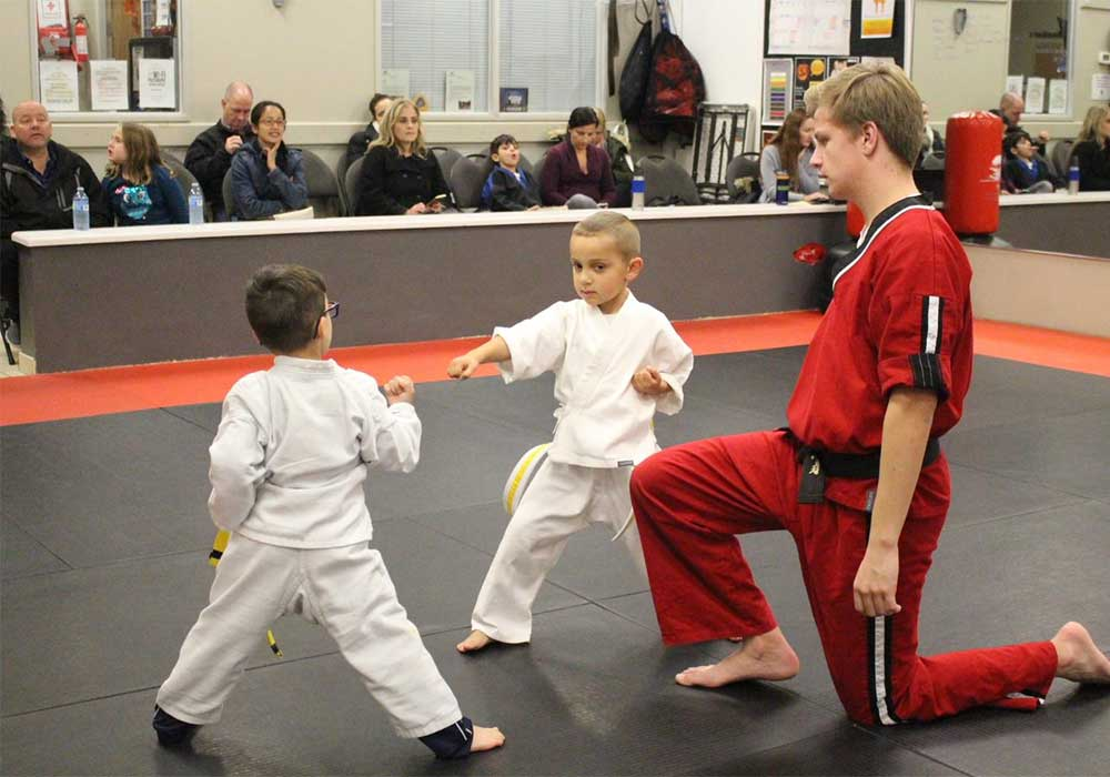kids karate confidence